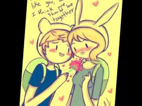 Finn+Fiona=Love... Anime Taylor Swift
