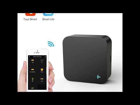 Aixi-SHS Wi-Fi IR Universal Remote Control Alexa Voice Control