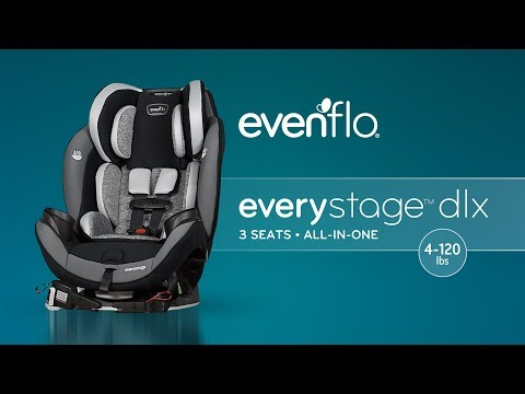 Evenflo EveryStage DLX All-in-One Car Seat | Product Tour