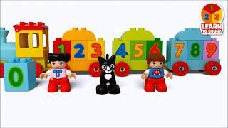 Конструктор LEGO DUPLO - 10847 Поезд Считай и Играй