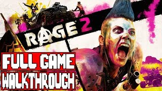 RAGE 2 Gameplay Walkthrough Part 1 FULL GAME - No Commentary (#Rage2 Full Game Playthrough)