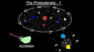 Astronomy - Ch. 8: Origin of the Solar System (11 of 19) The Protoplanets - 1