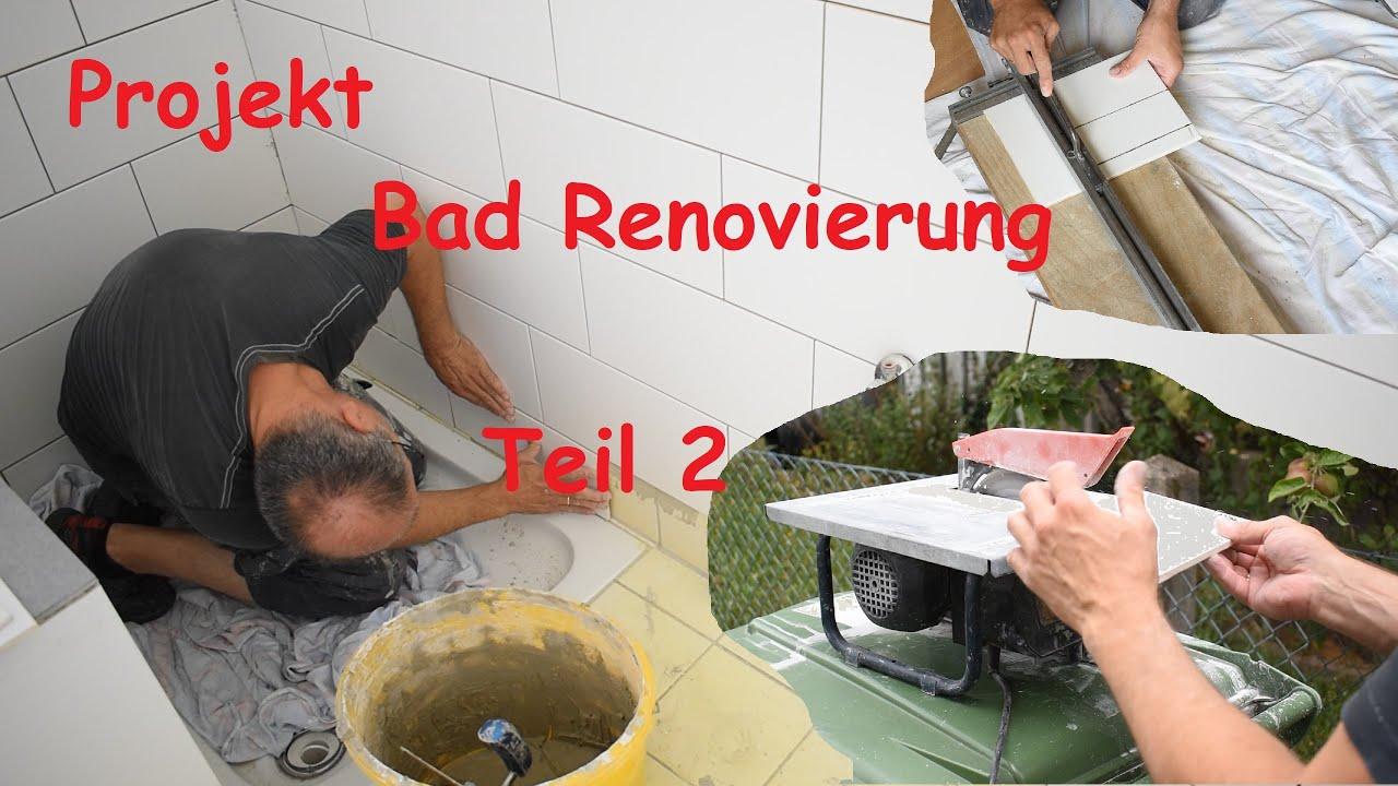 Ich renoviere ein kleines Bad  --Teil 2--