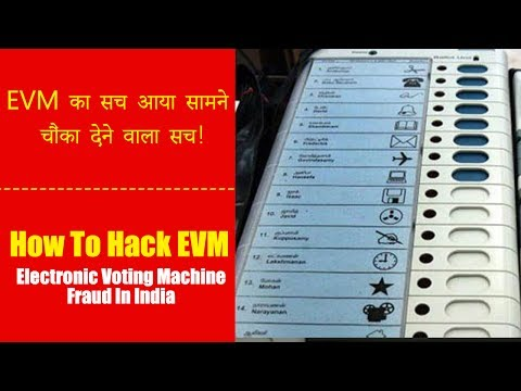 How To Hack EVM | Electronic Voting Machine Fraud In India