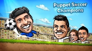 Puppet Soccer Champions 2014 - Android Gameplay HD