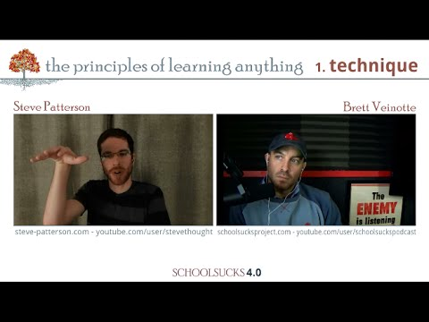 The Principles of Learning Anything - Part 1 - Technique