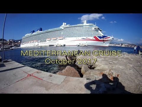 Mediterranean Cruise, P&O Britannia - October 2017