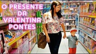 COMPRANDO PRESENTE DE ANIVERSÁRIO - VALENTINA