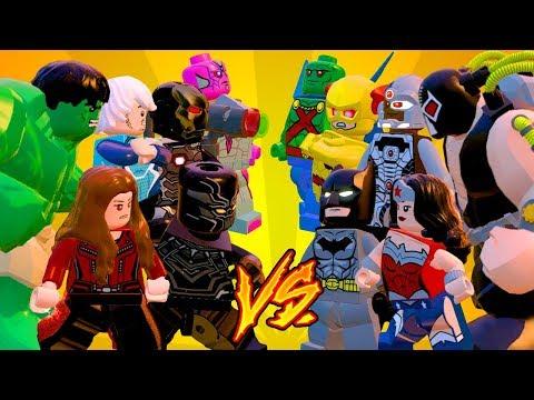MARVEL VS DC PARTE 2 - LEGO Marvel's Avengers (LEGO Marvel Vingadores) Briga de Heróis #185