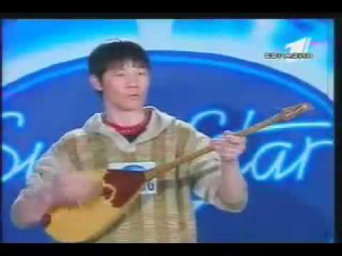 Funny idol in Kazakhstan