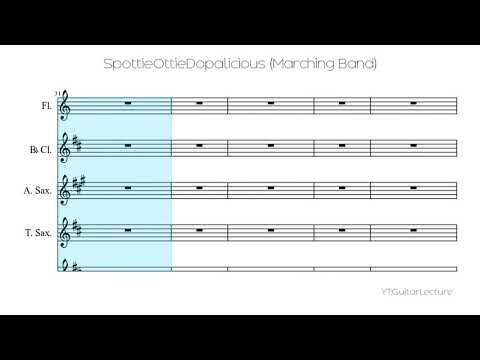 SpottieOttieDopalicious (Marching Band)