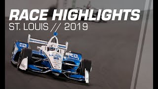 2019 IndyCar: St. Louis Race Highlights