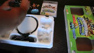 Unboxing Skylanders Swapforce On PS3