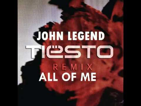 John Legend - All Of Me (Tiësto Remix) Capital FM Mix ...