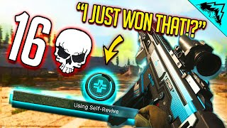 How did I WIN this SOLO Warzone Game!?