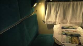 Обзор купе в поезде