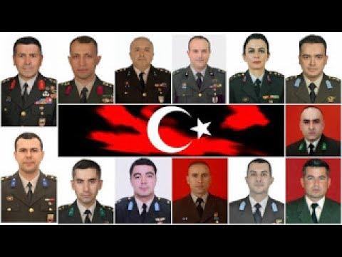 Şehit Tümgeneral Aydoğan Aydın  ve 12 Kahraman Şehit Asker