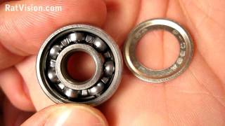 Take Off Skateboard & Longboard Bearing Shields/Seals