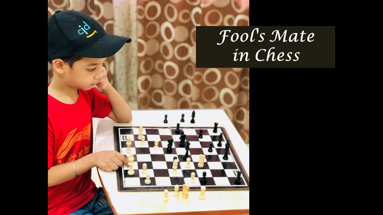 Chess fools mate(4 moves) - YouTube |Chess Fools Mate