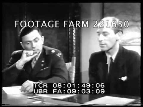 Captured German Atomic Bomb Scientist Interviewed 221650-01 | Footage Farm