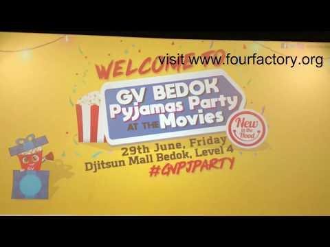 GV Djitsun Mall 'My Big Day' Movie With Desmond Tan Mediacorp Artist On 29 June 2018 Video 02