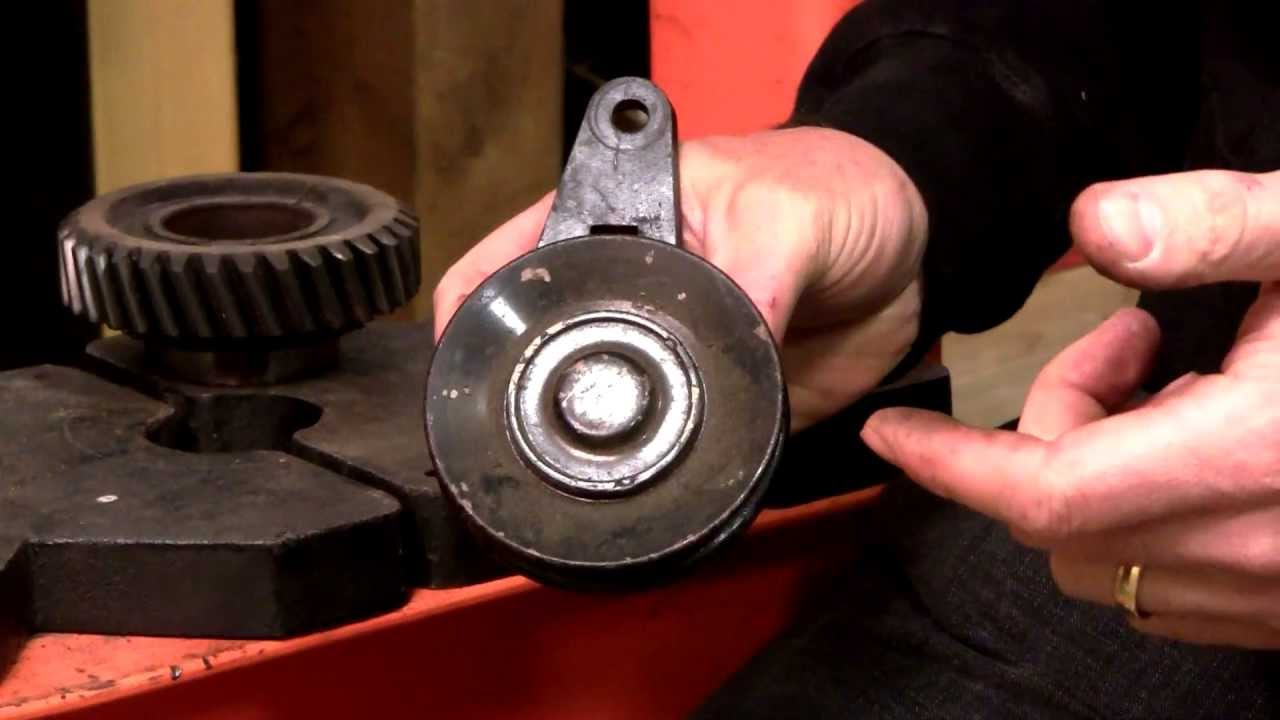 Idler Pulley Bearing Replacement How To Youtube Fj60 Air Conditioner Wiring Diagram