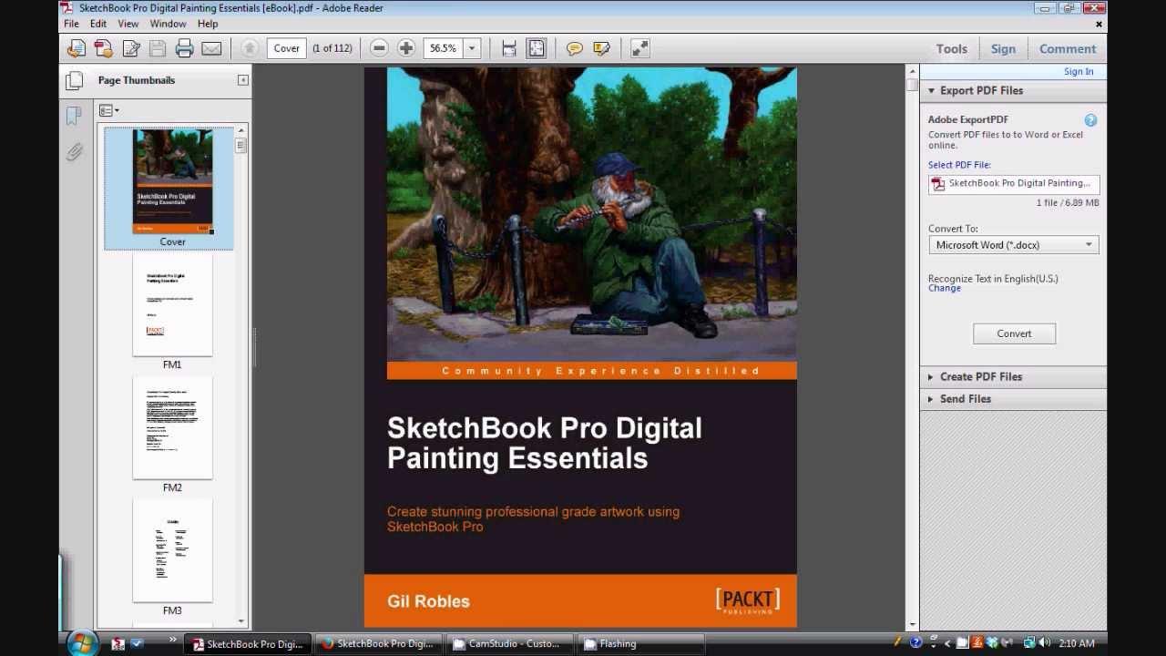 Download e-book SketchBook Pro Digital Painting Essentials