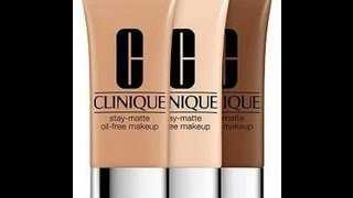 clinique stay matte foundation review oily skin