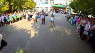 1 сентября, танец 11 класса (Победянская школа, Покровское)