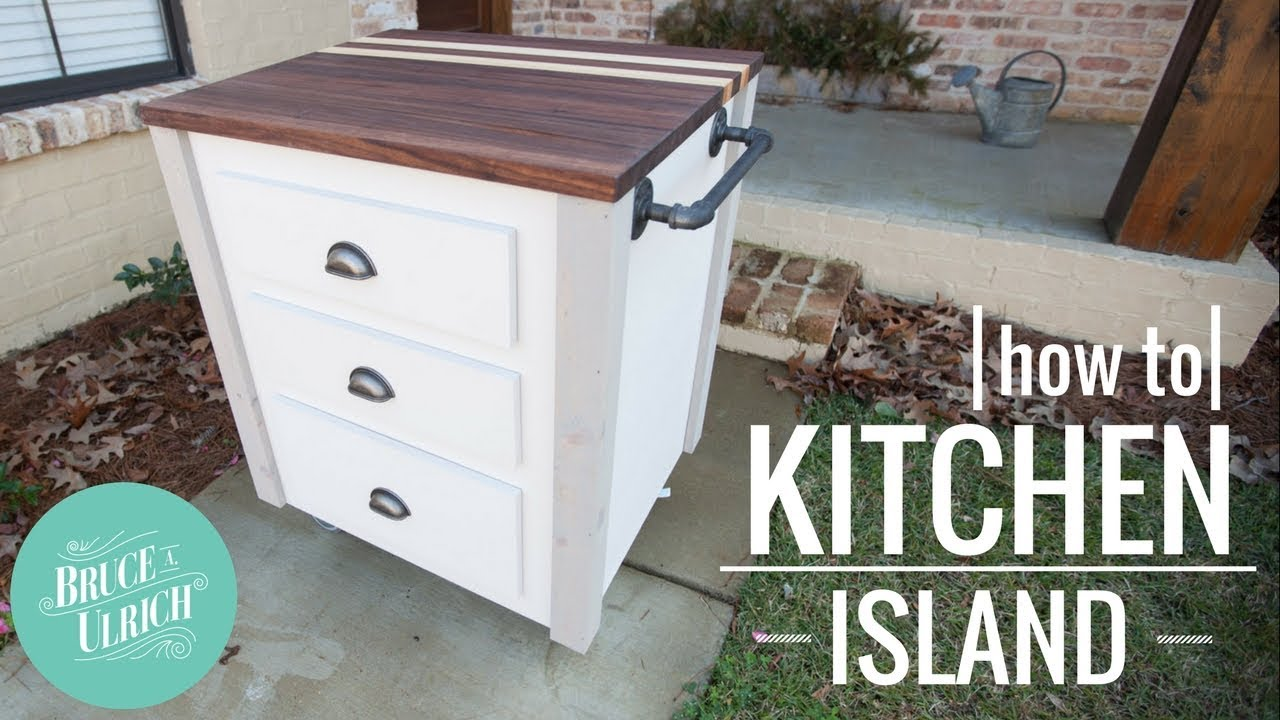 how to make a kitchen island youtube how to make a kitchen island