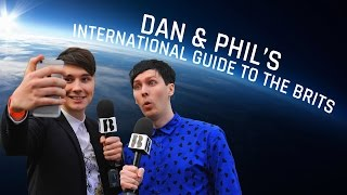 Dan & Phil's International Guide to The BRITs | BRIT Awards 2015