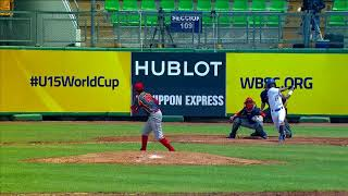 Highlights: China v Chinese Taipei - U-15 Baseball World Cup 2018