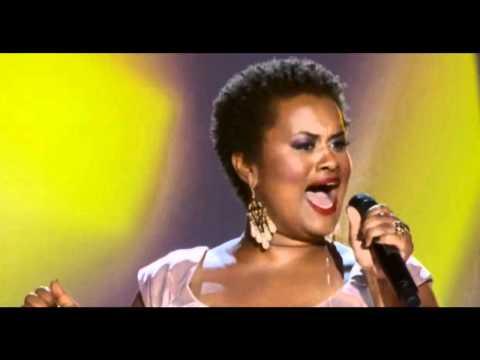 Amber Bullock sings