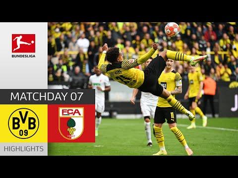 Borussia Dortmund Augsburg Goals And Highlights