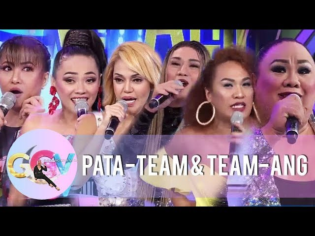 GGV: Pata-Team and Team-Ang's witty introductions