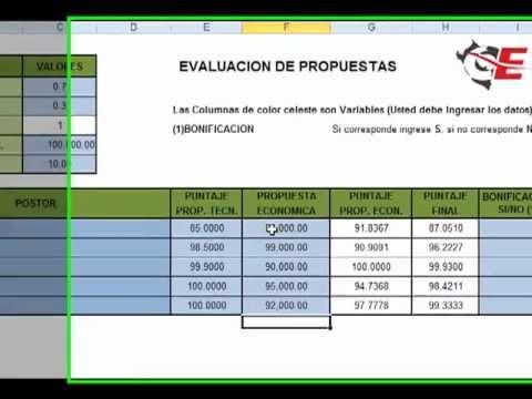 Evaluación de Propuestas - YouTube
