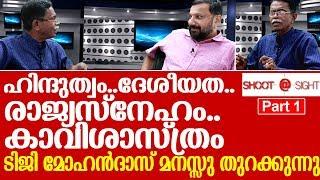 ഹിന്ദുത്വവും ദേശീയതയും ബിജെപിയും  I   Interview with TG Mohandas - Part 1
