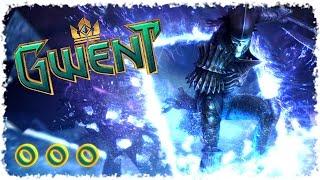 Gwent (closed beta) #000 - Первый запуск. Колода Чудовищ. 1-3 уровень.