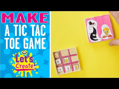 Let's Create!   How To Make A Tic-Tac-Toe Box   Boomerang UK