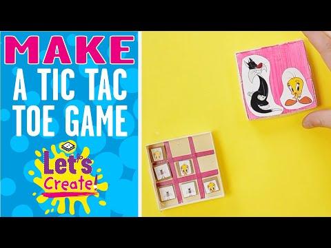 Let's Create! | How To Make A Tic-Tac-Toe Box | Boomerang UK