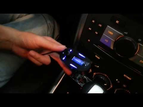 How to Set up Car MP3 WMA FM Transmitter Modulator ?