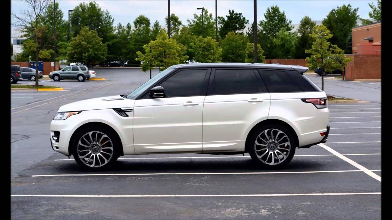 FOR SALE 2015 Range Rover Sport V8 Supercharged Satin Matte Wrap