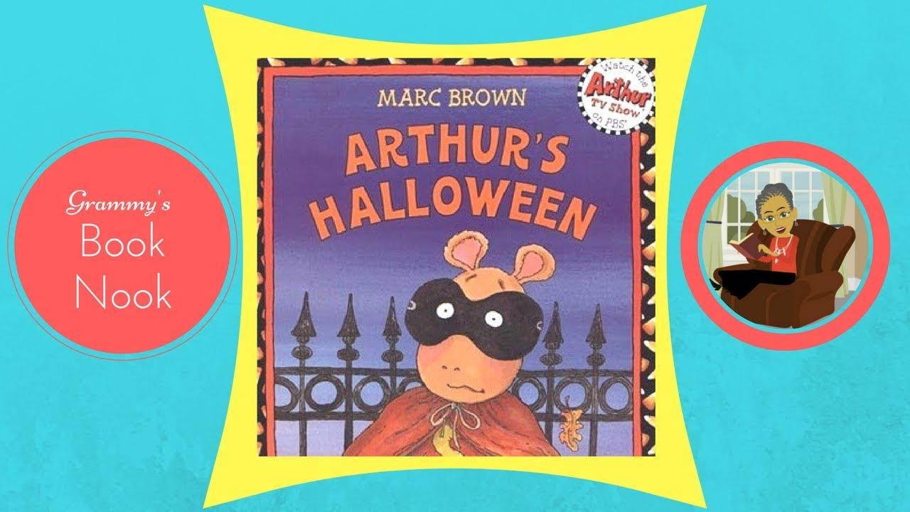 arthurs halloween childrens books read aloud stories for kids
