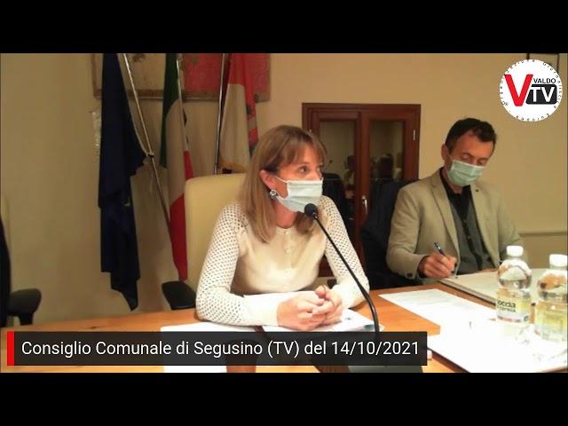 Consiglio Comunale di Segusino (TV) di giovedì 14 ottobre 2021