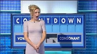 Countdown, contestant finds naughty word... ummm!