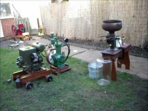 Ruston & Hornsby 6PB Dairy Display Vintage Stationary Engine - from YouTube · Duration:  10 minutes 53 seconds