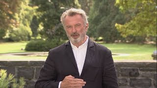 Beloved Kiwi actor Sam Neill speaks about the Christchurch terror attack