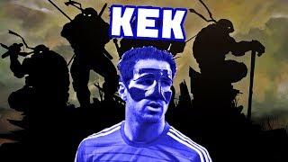 КЕК Юнайтед | Фабрегас - черепашка-ниндзя!
