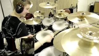 Lamb of God - Descending  DRUM COVER by 0bz3n