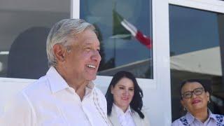 Inauguración de instalaciones de la Guardia Nacional, desde Tequila, Jalisco.